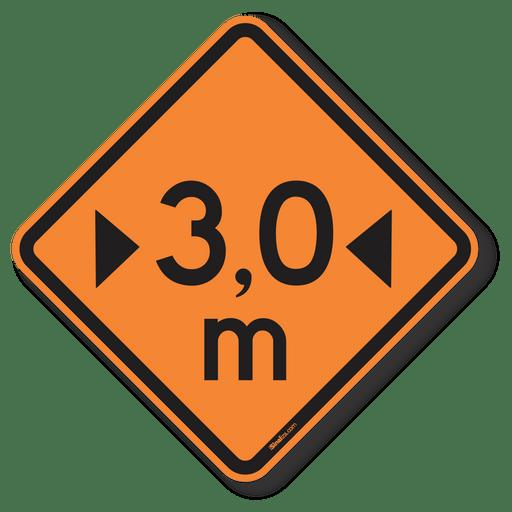 3715-placa-largura-limitada-3.0-metros-a-37-obra-aluminio-refletivo-acm-50x50cm-1
