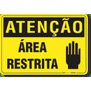 1126-placa-atencao-area-restrita-pvc-semi-rigido-26x18cm-furos-6mm-parafusos-nao-incluidos-1
