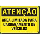 1109-placa-atencao-area-limitada-para-carregamento-de-veiculos-pvc-semi-rigido-26x18cm-furos-6mm-parafusos-nao-incluidos-1