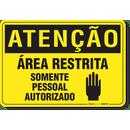 1111-placa-atencao-area-restrita-somente-pessoal-autorizado-pvc-semi-rigido-26x18cm-furos-6mm-parafusos-nao-incluidos-1