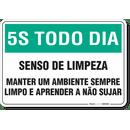 1091-placa-5s-todo-dia-senso-de-limpeza-pvc-semi-rigido-26x18cm-furos-6mm-parafusos-nao-incluidos-1
