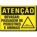 2095-placa-atencao-devagar-passagem-de-pedestres-e-animais-pvc-semi-rigido-26x18cm-fixacao-1