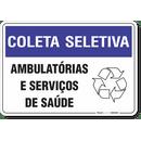 1467-placa-coleta-seletiva-ambulatorias-e-servicos-de-saude-pvc-semi-rigido-26x18cm-furos-6mm-parafusos-nao-incluidos-1