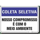 1486-placa-coleta-seletiva-nosso-compromisso-e-com-o-meio-ambiente-pvc-semi-rigido-26x18cm-furos-6mm-parafusos-nao-incluidos-1