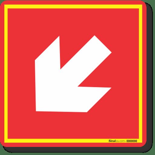3647-placa-seta-diagonal-a-esquerda-e15-pvc-2mm-20x20cm-1