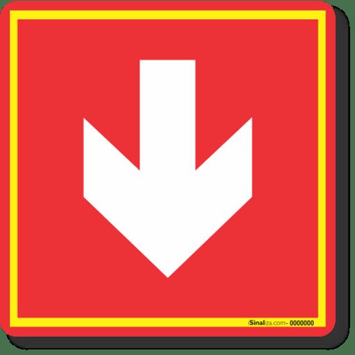 3651-placa-seta-indicativa-para-baixo-pvc-2mm-20x20cm-1
