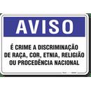 1265-placa-aviso-e-crime-a-discriminacao-de-raca-cor-etnia-religiao-ou-procedencia-nacional-pvc-semi-rigido-26x18cm-furos-6mm-parafusos-nao-incluidos-1