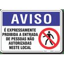 1266-placa-aviso-e-expressamente-proibido-a-entrada-de-pessoas-nao-autorizadas-neste-local-pvc-semi-rigido-26x18cm-furos-6mm-parafusos-nao-incluidos-1