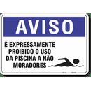 1268-placa-aviso-e-expressamente-proibido-o-uso-da-piscina-a-nao-moradores-pvc-semi-rigido-26x18cm-furos-6mm-parafusos-nao-incluidos-1