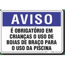 1269-placa-aviso-e-obrigatorio-em-criancas-o-uso-de-boias-pvc-semi-rigido-26x18cm-furos-6mm-parafusos-nao-incluidos-1
