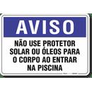 1291-placa-aviso-nao-use-protetor-solar-ou-oleos-para-o-corpo-antes-de-entrar-na-piscina-pvc-semi-rigido-26x18cm-furos-6mm-parafusos-nao-incluidos-1