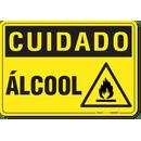 1323-placa-cuidado-alcool-simbolo-pvc-semi-rigido-26x18cm-furos-6mm-parafusos-nao-incluidos-1