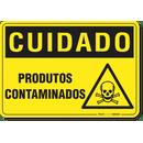 1357-placa-cuidado-produtos-contaminados-pvc-semi-rigido-26x18cm-furos-6mm-parafusos-nao-incluidos-1