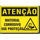 1877-placa-atencao-material-corrosivo-use-protecao-pvc-semi-rigido-26x18cm-furos-6mm-parafusos-nao-incluidos-1