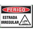 3094-placa-perigo-estrada-irregular-pvc-semi-rigido-26x18cm-furos-6mm-parafusos-nao-incluidos-1