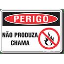 3285-placa-perigo-nao-produza-chama-pvc-semi-rigido-26x18cm-furos-6mm-parafusos-nao-incluidos-1
