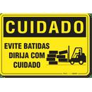 2388-placa-cuidado-evite-batidas-dirija-com-cuidado-pvc-semi-rigido-26x18cm-furos-6mm-parafusos-nao-incluidos-1