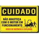 2395-placa-cuidado-nao-abasteca-com-o-motor-em-funcionamento-pvc-semi-rigido-26x18cm-furos-6mm-parafusos-nao-incluidos-1