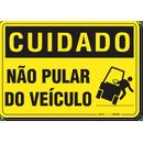 2401-placa-cuidado-nao-pular-do-veiculo-pvc-semi-rigido-26x18cm-furos-6mm-parafusos-nao-incluidos-1