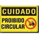 2413-placa-cuidado-proibido-circular-pvc-semi-rigido-26x18cm-furos-6mm-parafusos-nao-incluidos-1