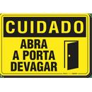2574-placa-cuidado-abra-a-porta-devagar-pvc-semi-rigido-26x18cm-furos-6mm-parafusos-nao-incluidos-1