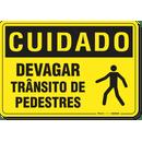 2624-placa-cuidado-devagar-transito-de-pedestres-pvc-semi-rigido-26x18cm-furos-6mm-parafusos-nao-incluidos-1