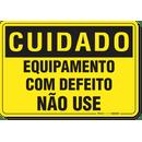 2645-placa-cuidado-equipamento-com-defeito-nao-use-pvc-semi-rigido-26x18cm-furos-6mm-parafusos-nao-incluidos-1
