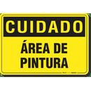 2743-placa-cuidado-area-de-pintura-pvc-semi-rigido-26x18cm-furos-6mm-parafusos-nao-incluidos-1