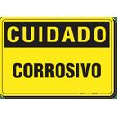 2838-placa-cuidado-corrosivo-pvc-semi-rigido-26x18cm-furos-6mm-parafusos-nao-incluidos-1