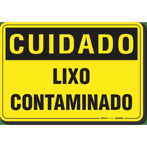2881-placa-cuidado-lixo-contaminado-pvc-semi-rigido-26x18cm-furos-6mm-parafusos-nao-incluidos-1