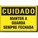 2884-placa-cuidado-manter-a-guarda-sempre-fechada-pvc-semi-rigido-26x18cm-furos-6mm-parafusos-nao-incluidos-1