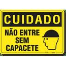 2907-placa-cuidado-nao-entre-sem-capacete-pvc-semi-rigido-26x18cm-furos-6mm-parafusos-nao-incluidos-1