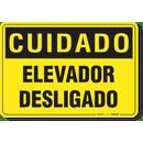 3382-placa-cuidado-elevador-desligado-pvc-semi-rigido-26x18cm-furos-6mm-parafusos-nao-incluidos-1