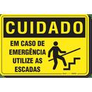 3390-placa-cuidado-em-caso-de-emergencia-utilize-as-escadas-pvc-semi-rigido-26x18cm-furos-6mm-parafusos-nao-incluidos-1