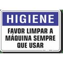 1633-placa-higiene-favor-limpar-a-maquina-sempre-que-usar-pvc-semi-rigido-26x18cm-furos-6mm-parafusos-nao-incluidos-1