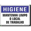 1647-placa-higiene-mantenha-limpo-o-local-de-trabalho-pvc-semi-rigido-26x18cm-furos-6mm-parafusos-nao-incluidos-1
