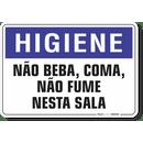 1655-placa-higiene-nao-beba-coma-nao-fume-nesta-sala-pvc-semi-rigido-26x18cm-furos-6mm-parafusos-nao-incluidos-1