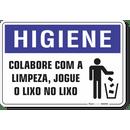 1670-placa-higiene-colabore-com-a-limpeza-jogue-o-lixo-no-lixo-pvc-semi-rigido-26x18cm-furos-6mm-parafusos-nao-incluidos-1