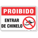 1733-placa-proibido-entrar-de-chinelo-pvc-semi-rigido-26x18cm-furos-6mm-parafusos-nao-incluidos-1
