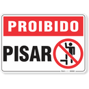 1756-placa-proibido-pisar-pvc-semi-rigido-26x18cm-furos-6mm-parafusos-nao-incluidos-1