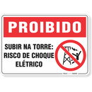 1764-placa-proibido-subir-na-torre-risco-de-choque-eletrico-pvc-semi-rigido-26x18cm-furos-6mm-parafusos-nao-incluidos-1