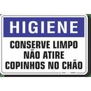 1628-placa-higiene-conserve-limpo-nao-atire-copinhos-no-chao-pvc-semi-rigido-26x18cm-furos-6mm-parafusos-nao-incluidos-1