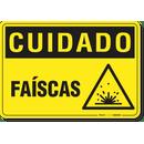 2616-placa-cuidado-faiscas-pvc-semi-rigido-26x18cm-furos-6mm-parafusos-nao-incluidos-1