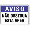 2036-placa-aviso-nao-obstrua-esta-area-pvc-semi-rigido-26x18cm-furos-6mm-parafusos-nao-incluidos-1