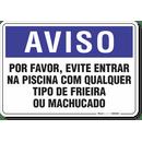1299-placa-aviso-por-favor-evite-entrar-na-piscina-com-qualquer-tipo-de-frieira-ou-machucado-pvc-semi-rigido-26x18cm-furos-6mm-parafusos-nao-incluidos-1