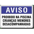 1303-placa-aviso-proibido-na-piscina-criancas-menores-desacompanhadas-pvc-semi-rigido-26x18cm-furos-6mm-parafusos-nao-incluidos-1