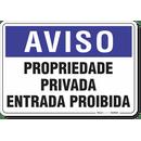 1305-placa-aviso-propriedade-privada-entrada-proibida-pvc-semi-rigido-26x18cm-furos-6mm-parafusos-nao-incluidos-1