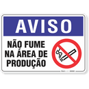 2032-placa-aviso-nao-fume-na-area-de-producao-pvc-semi-rigido-26x18cm-furos-6mm-parafusos-nao-incluidos-1