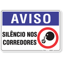 2092-placa-aviso-silencio-nos-corredores-pvc-semi-rigido-26x18cm-furos-6mm-parafusos-nao-incluidos-1