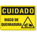 3045-placa-cuidado-risco-de-queimadura-pvc-semi-rigido-26x18cm-furos-6mm-parafusos-nao-incluidos-1